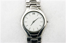 A watch is a small timepiece, typically worn eithe...