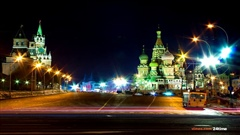 Москва2013-MoscowRussian-Federation---Timelapse-in-motion--Hyperlapse