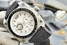 A watch is a small timepiece, typically worn either on the wrist or attached on...