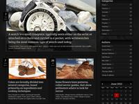 Multiarticle display - BlogTwo dark skin and template